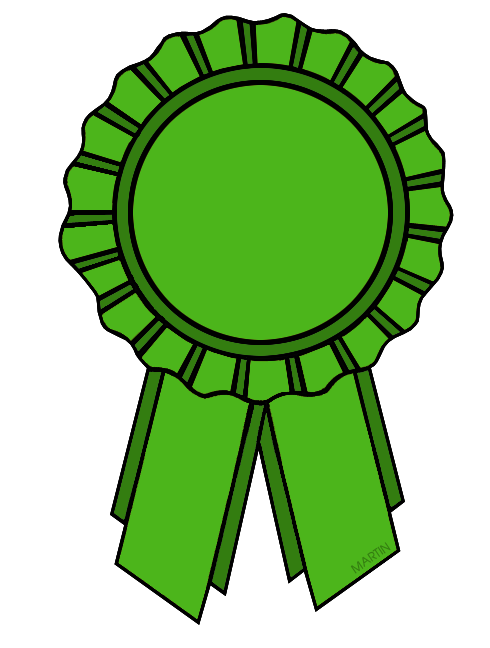 Ribbon green. Miniclips ribbons clip art